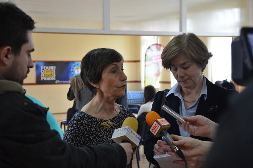 2015 en Croatie avec l'ambassadrice de France en Bosnie