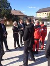 L' ONG française « Pompiers de l'urgence internationale » en Bosnie-Herzégovine (30 sept.-4 oct. 2013) - Photo : Ambassade de France en Bosnie-Herzégovine (D.R.)